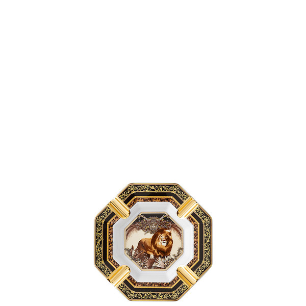 Ashtray, William, Lion, 5 1/2 inch | La Regne Animal