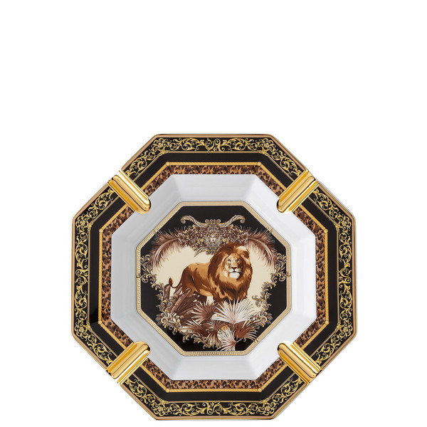Ashtray, William, Lion, 9 1/2 inch | La Regne Animal
