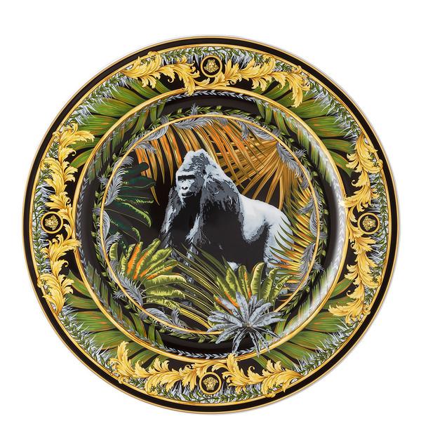 Wall Plate, Bob, Gorilla, 11 3/4 inch | La Regne Animal