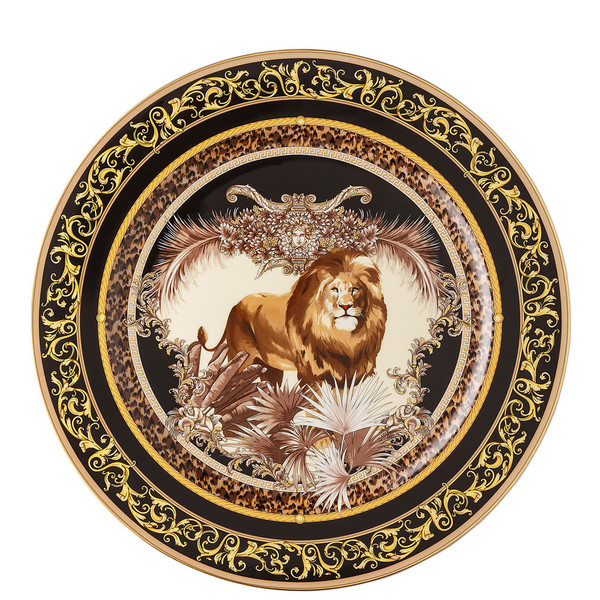 Wall Plate, William, Lion, 11 3/4 inch | La Regne Animal