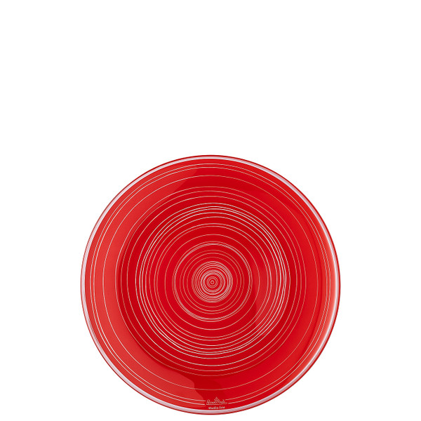 Plate, Red, 8 1/4 inch | TAC Stripes 2.0