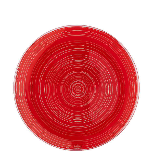 Plate, Red, 11 inch   TAC Stripes 2.0
