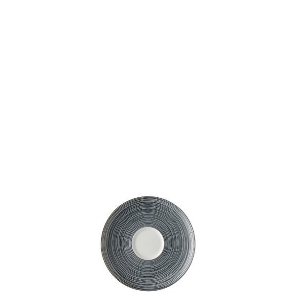 Espresso Saucer, Matte, 5 1/2 inch | TAC Stripes 2.0