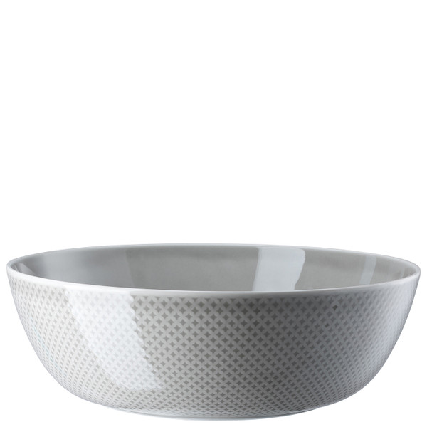 Serving Bowl, 13 inch, 188 ounce | Junto Pearl Grey