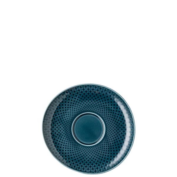 Saucer, 7 1/8 inch | Junto Ocean Blue