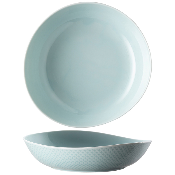Plate, Deep, 9 7/8 x 9 1/2 inch | Junto Opal Green