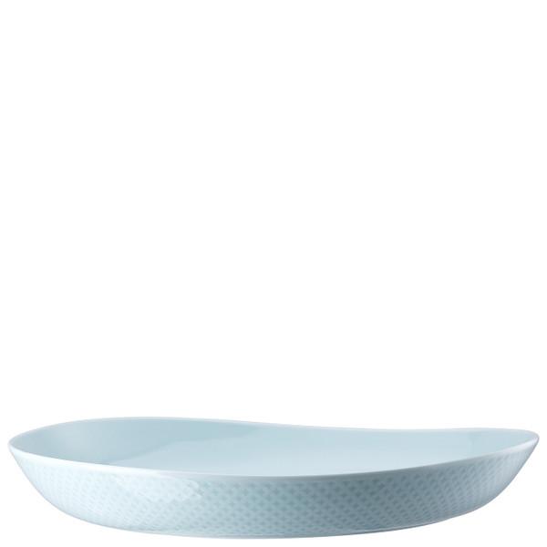 Plate, Deep, 13 inch | Junto Opal Green