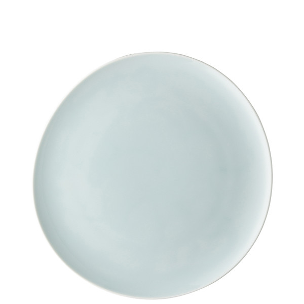 Dinner Plate, Flat, Relief on Back, 10 1/2 inch | Junto Opal Green