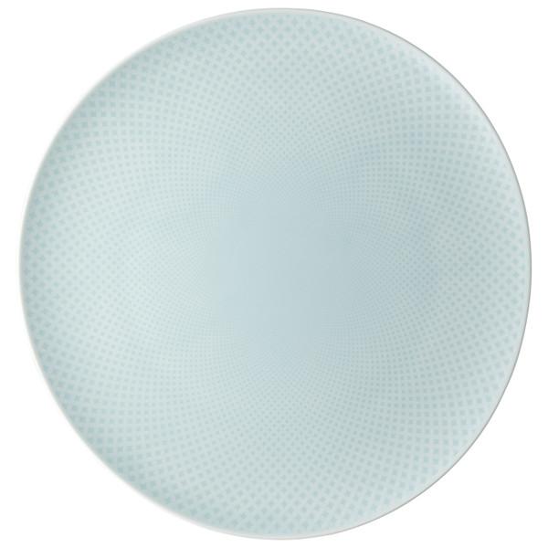 Service Plate, Flat, 12 5/8 inch | Junto Opal Green