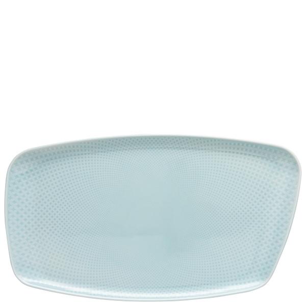 Platter, 15 x 9 1/2 inch | Junto Opal Green