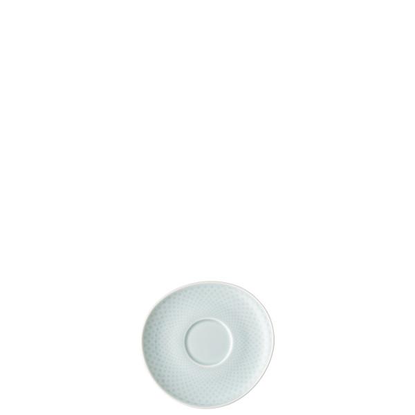 Espresso Saucer, 4 3/8 inch | Junto Opal Green