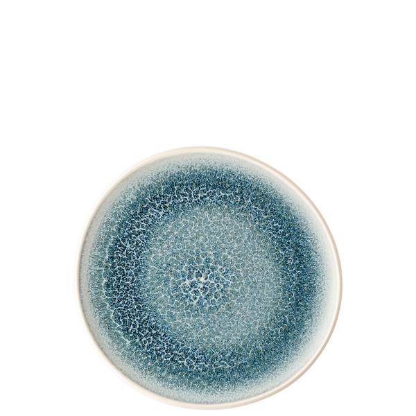 Salad Plate, Flat, 8 2/3 inch | Junto Stoneware Aquamarine