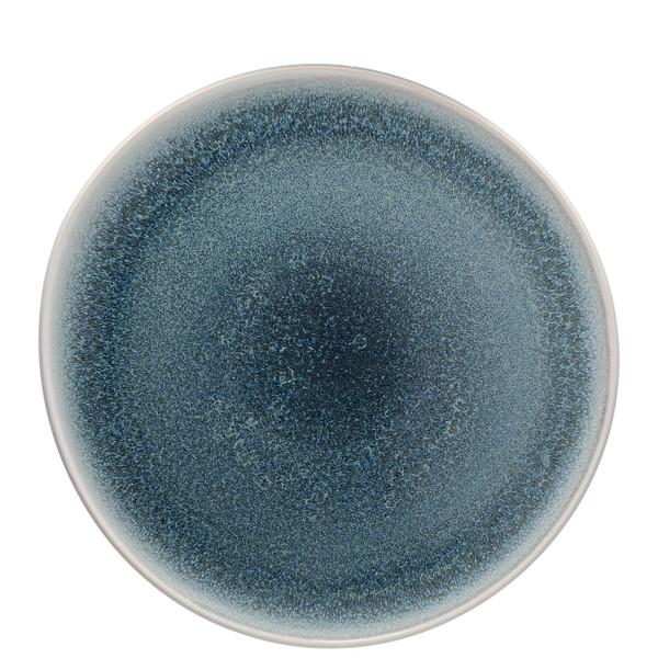 Service Plate, Flat, 11 3/4 inch | Junto Stoneware Aquamarine