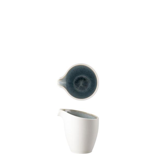 Creamer, 5 1/4 ounce | Junto Stoneware Aquamarine