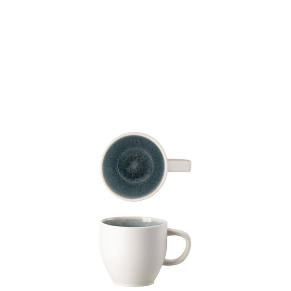 Cup, 8 ounce | Junto Stoneware Aquamarine