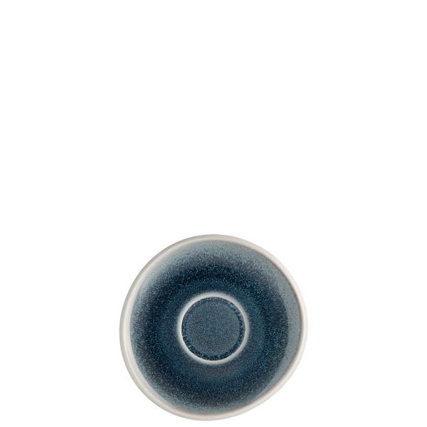 Saucer, 6 inch | Junto Stoneware Aquamarine