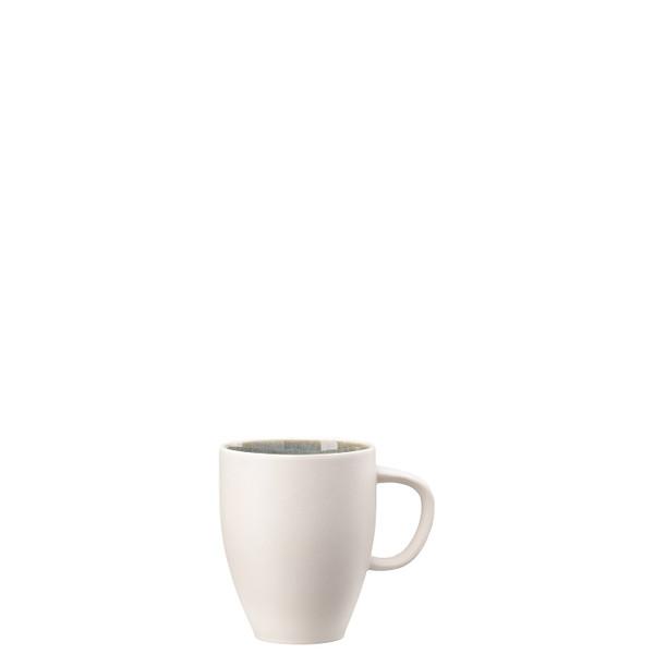 Mug with Handle, 12 3/4 ounce | Junto Stoneware Aquamarine
