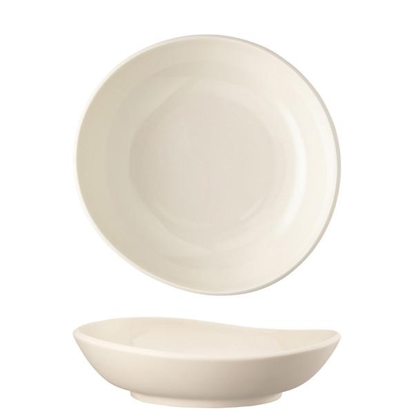 Soup Plate, Deep, Alabaster, 8 2/3 inch | Junto Stoneware Aquamarine