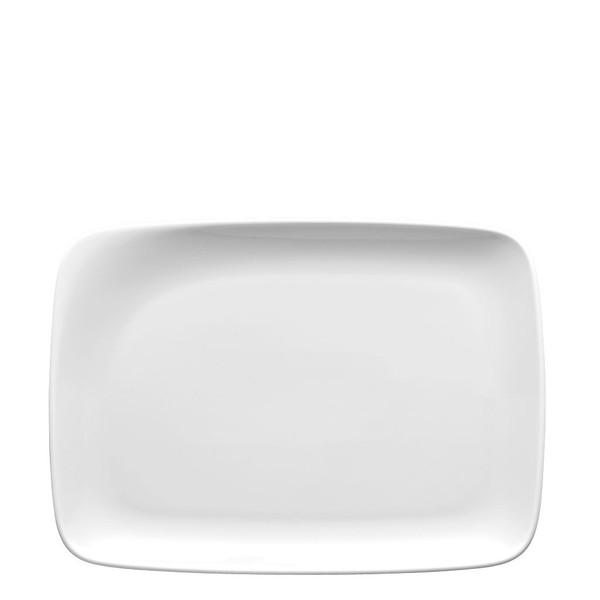 Platter, rectangular, 11 inch | Thomas Quadrondo White