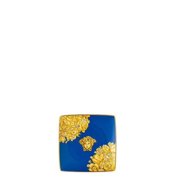 Canape Dish,  Square, 4 3/4 inch | Medusa Rhapsody Blue