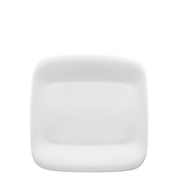 Salad/Dessert Plate, square, 8 1/2 inch | Thomas Quadrondo White