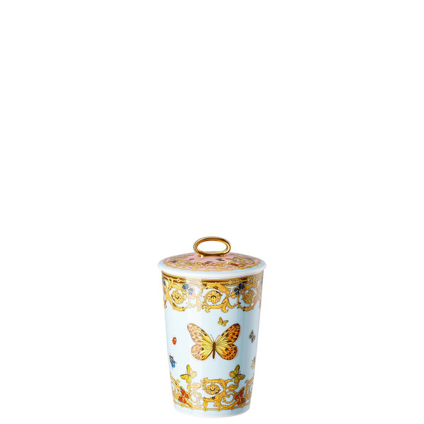 Scented Votive with Lid, 5 1/2 inch | Scented Candles Le jardin de Versace