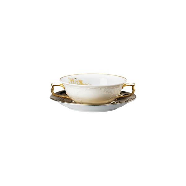 Creamsoup Cup Saucer, 10 1/2 ounce | Heritage Midas