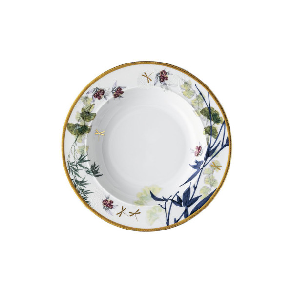 Rim Soup Plate, 8 3/4 inch, 10 1/4 ounce | Heritage Turandot