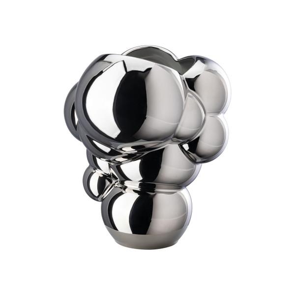 Vase, platinum, 10 1/4 inch | Skum
