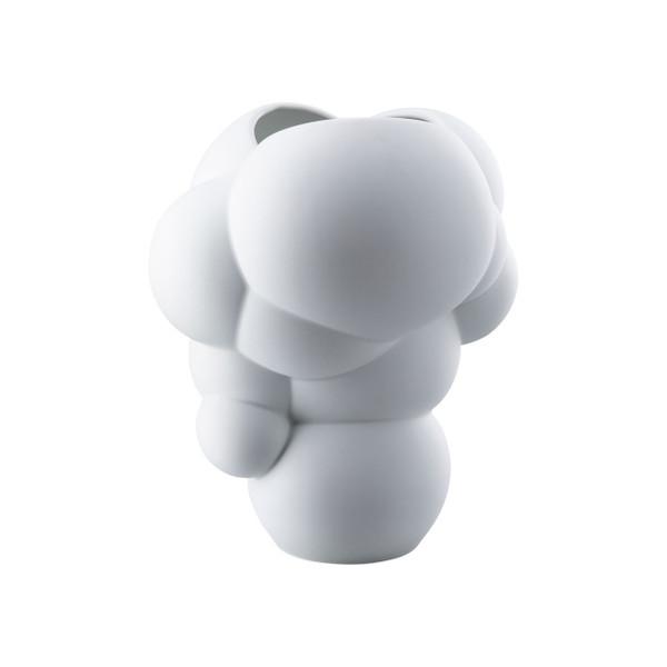 Vase, white matt, 10 1/4 inch | Skum
