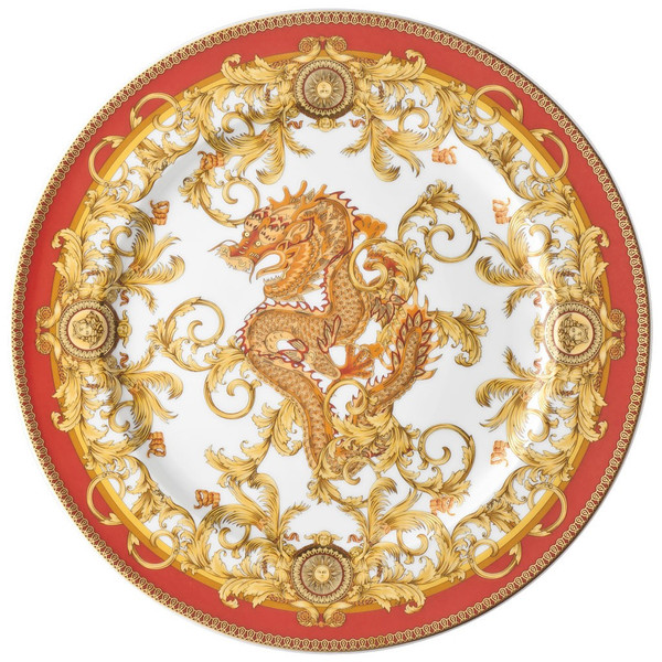 Service Plate, 13 inch   Versace Asian Dream