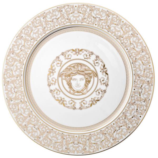 Service Plate, 13 inch | Versace Medusa Gala