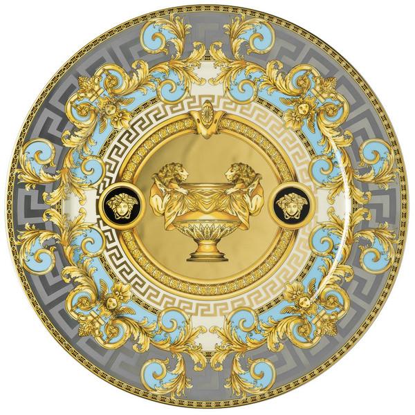 Service Plate, 13 inch | Versace Prestige Gala Bleu