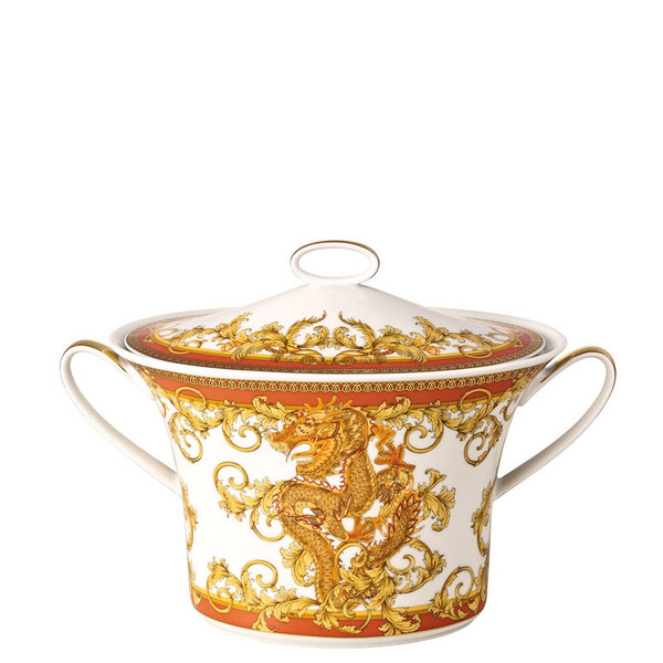 Soup Tureen, 77 ounce | Versace Asian Dream