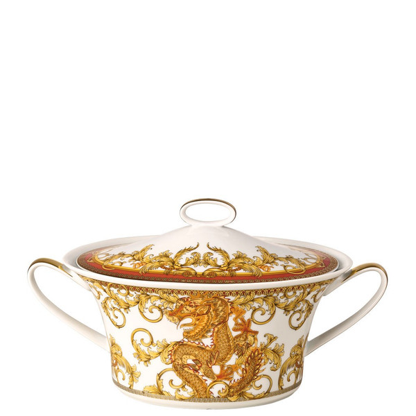 Vegetable Bowl, Covered | Versace Asian Dream