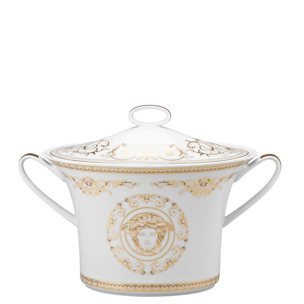 Soup Tureen, Covered, 77 ounce | Versace Medusa Gala