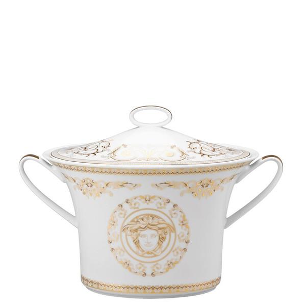 Soup Tureen, Covered, 77 ounce | Versace Medusa Gala