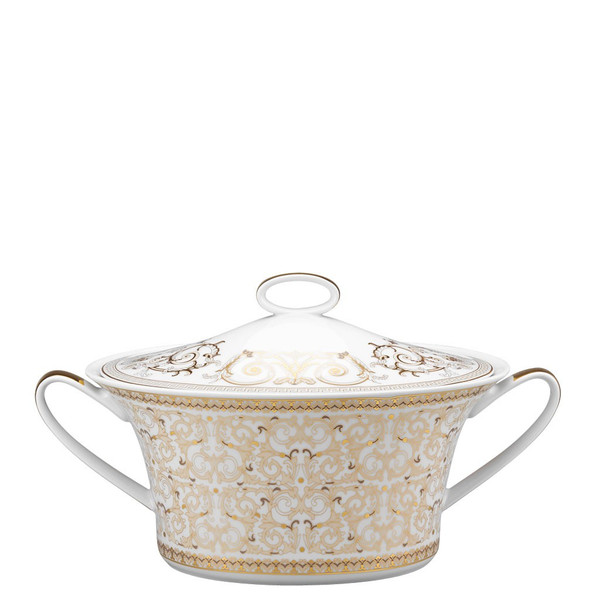 write a review for Vegetable Bowl, Covered, 54 ounce | Versace Medusa Gala