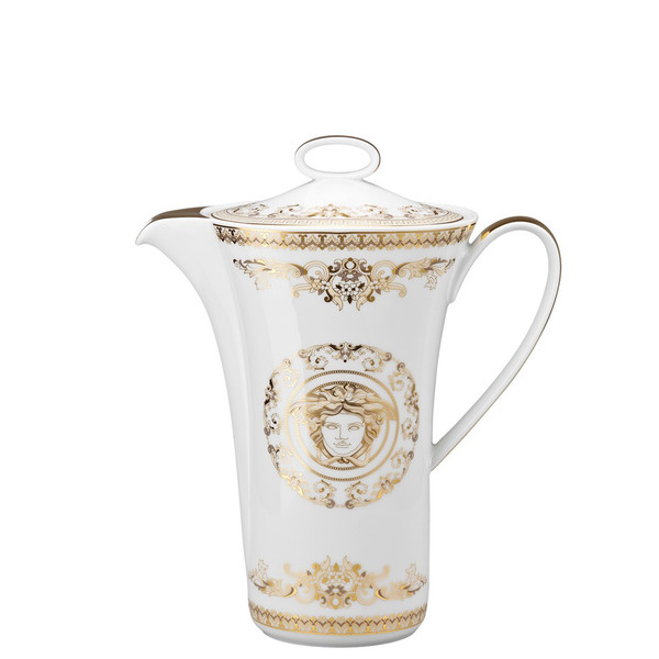 Coffee Pot, 40 ounce | Versace Medusa Gala