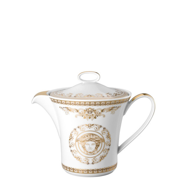 Tea Pot, 43 ounce | Versace Medusa Gala