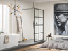 Soho Wetroom Screens - Walk Through Screen