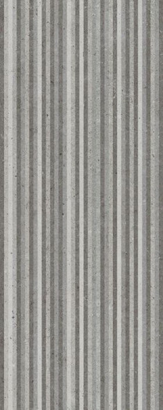 Metropoli Grey Slot Decor Wall Tile - 500 x 200 x 8mm