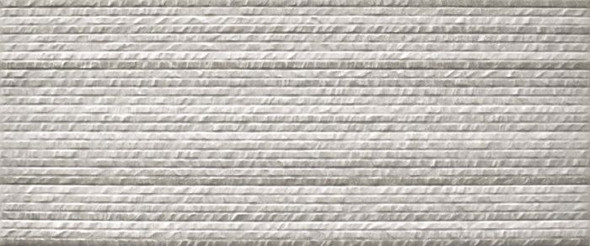 Neutra White Relieve Decor Tile - 600 x 250 x 8mm