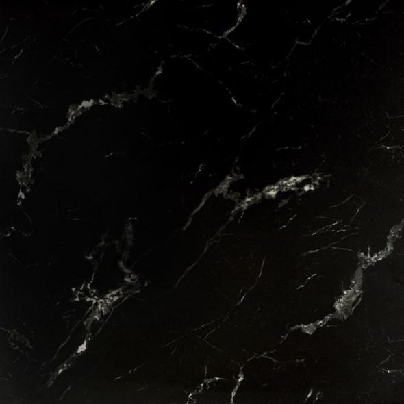 Genova Black Marble Gloss Wall & Floor Tile - 585 x 585 x 8mm