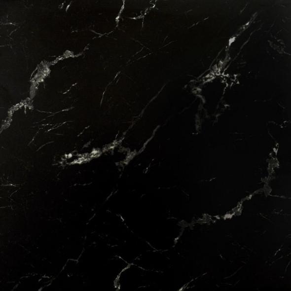 Genova Black Marble Matt Wall & Floor Tile - 585 x 585 x 8mm