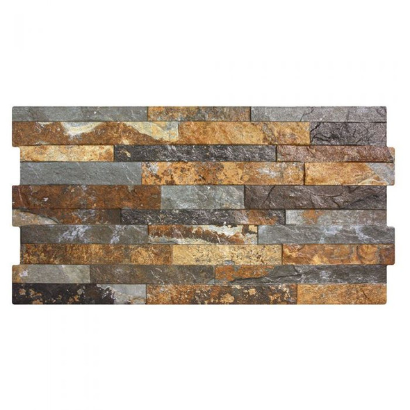 Pompeya Oxido Wall Tile 600 x 300 x 10mm