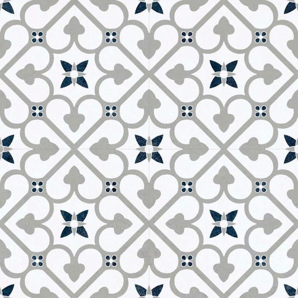 Autograph Brighton Grey Floor Tile 450 x 450 x 6mm