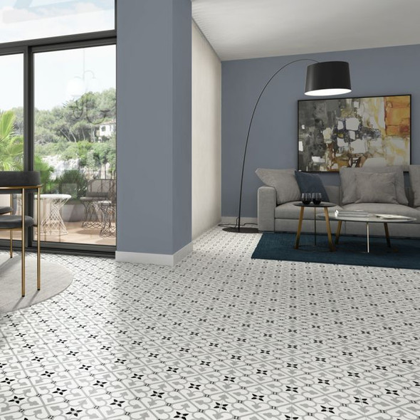 Autograph Brighton Grey Floor Tile 450 x 450 x 6mm