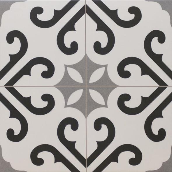 Autograph Derby Grey Floor Tile 450 x 450 x 6mm