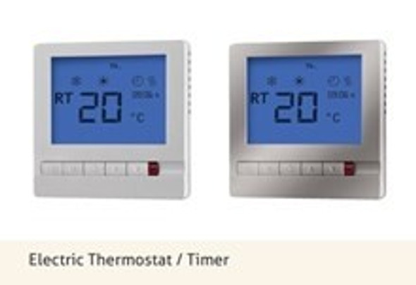 AMSTAT Thermostat/Timer - Silver